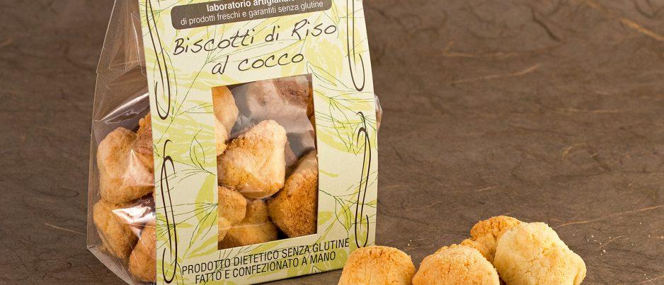 Biscotti di Riso al Cocco